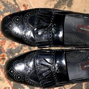 Black Florsheim Loafers